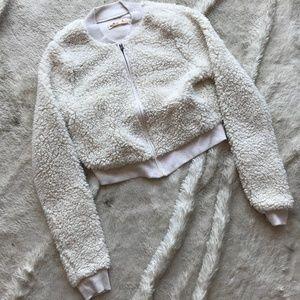Hollister Carpet Lined Full Zip Jacket